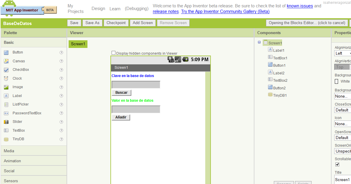 Mi Diario Cultural Tecnol 243 Gico Mi Base De Datos Android