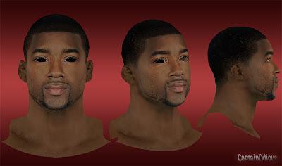 NBA 2K13 E'Twaun Moore Cyberface Patch