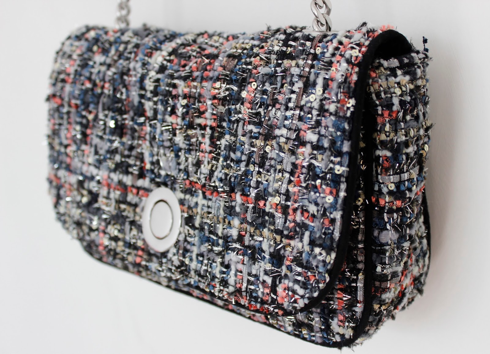 ZARA Tweed Messenger Bag £39.99