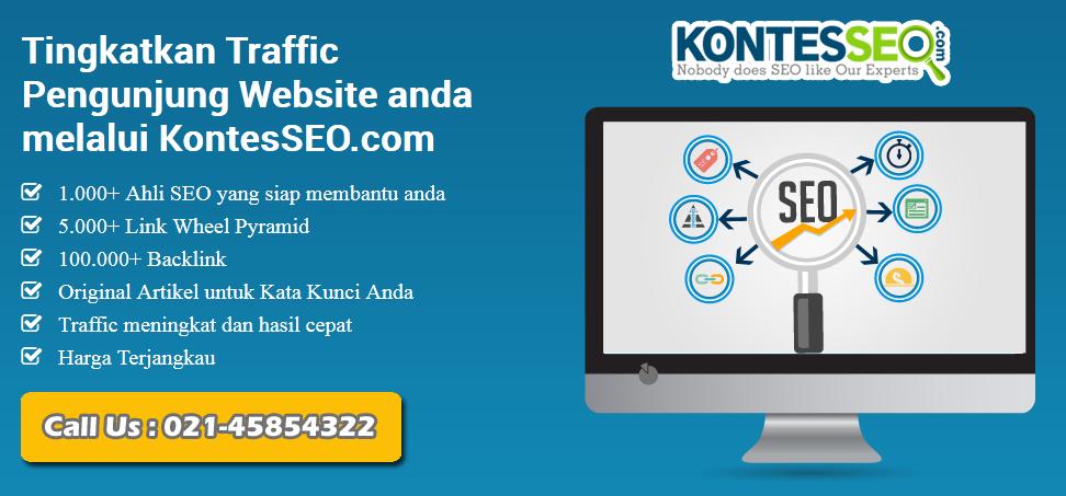 KontesSEO.com Portal Kontes SEO Terpercaya dan Terbesar di Indonesia