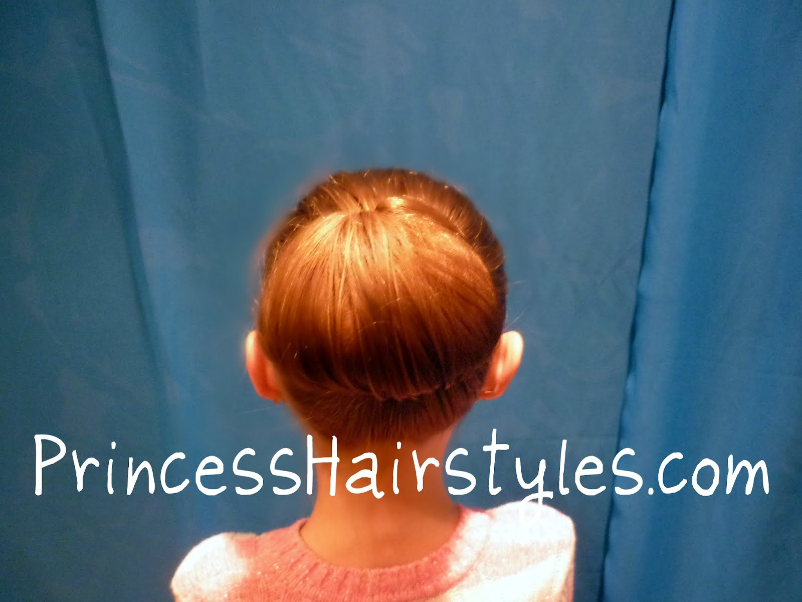 simple bun the tuck and roll hairstyles for girls. Black Bedroom Furniture Sets. Home Design Ideas