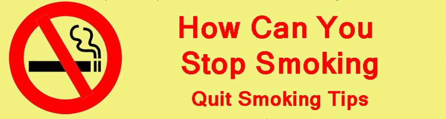 How Can You Stop Smoking