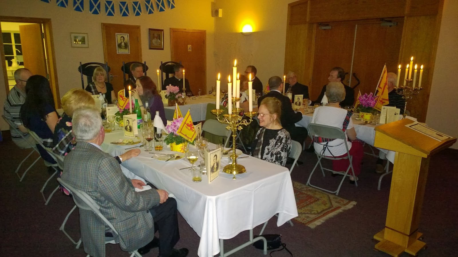 Burnsu0027 Night Supper & Offerimus Tibi Domine: Burnsu0027 Night Supper