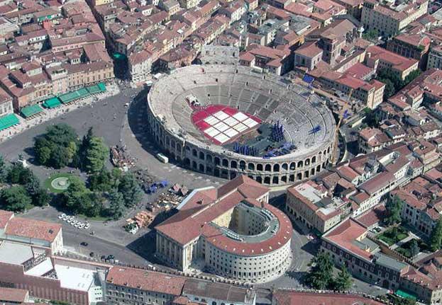 City of Verona Italy