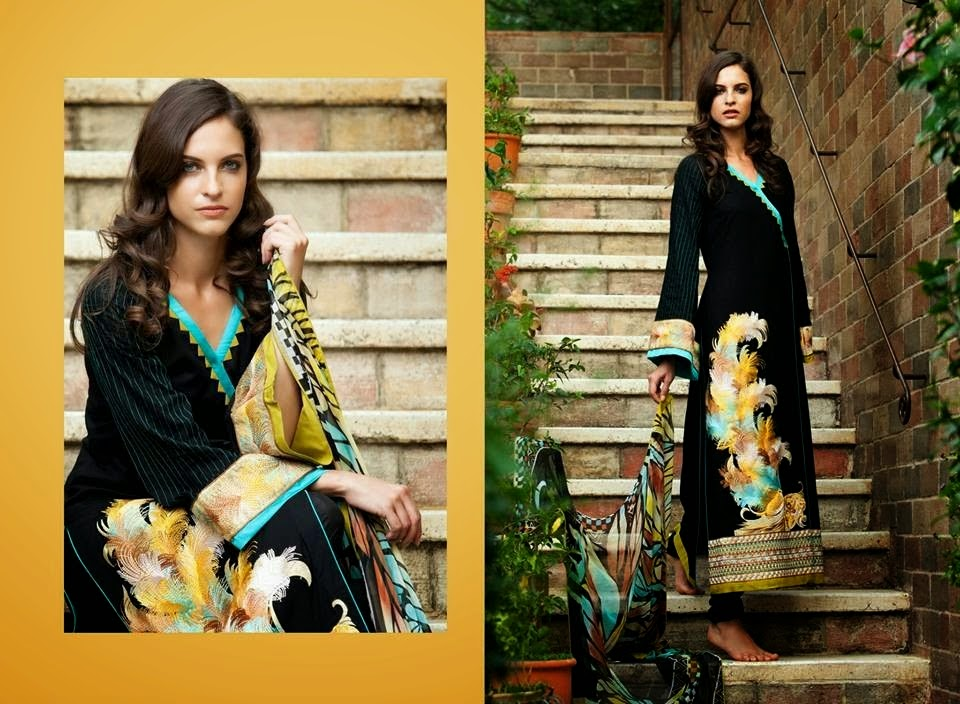 Designer Shirt Party Wear Lawn Collection