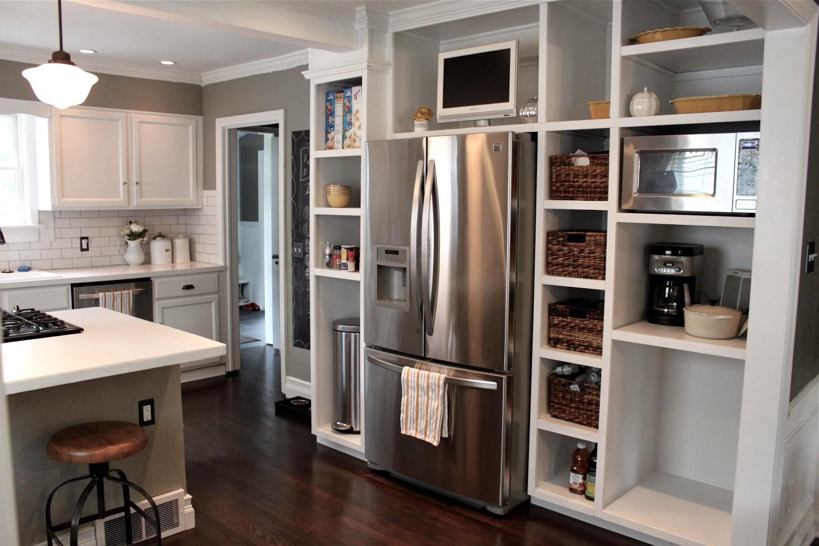 The Fat Hydrangea Custom Kitchen Built Ins 75 Done