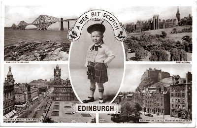 1950s Edinburgh Scotland Postcard