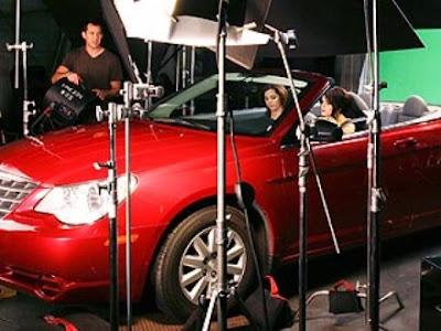 Selena Gomez Car