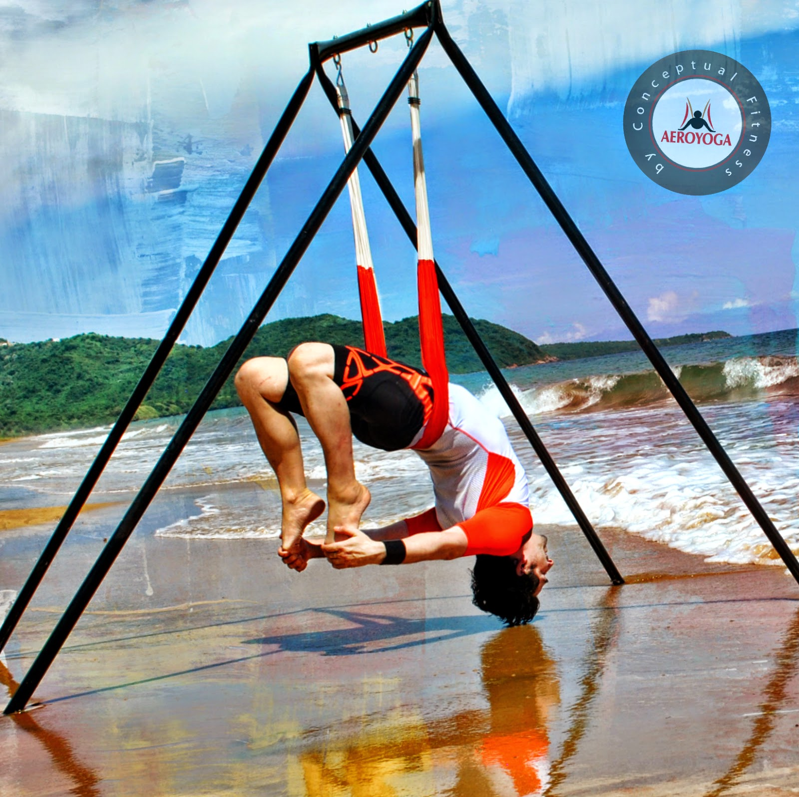 ioga aeri trapezi