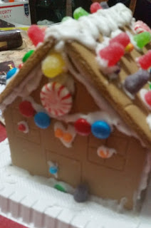 gingerbread house stage 3