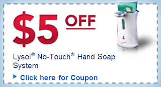 $5 off Lysol Coupon
