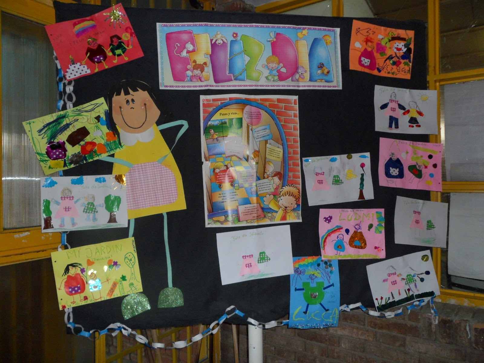 Escuela n 1 677 cristo de la frontera for Actividades en el jardin