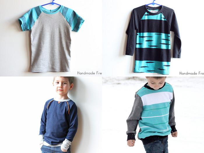Recess Raglan x3 & Classic Sweatshirt