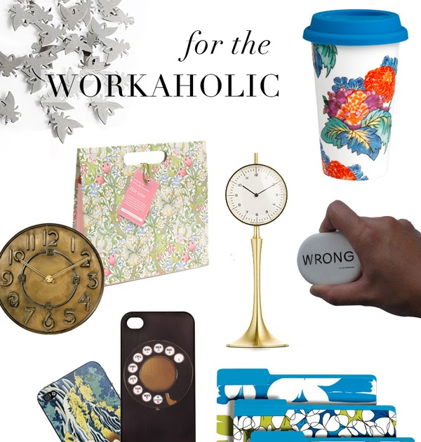 Luisa design gift guides part ii for the workaholic for Apartment design guide part 2