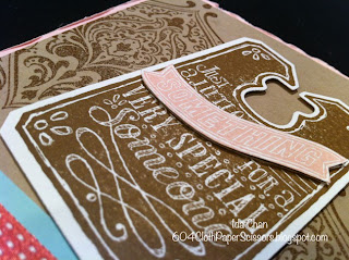 Chalk Talk Beautifully Baroque card by Ida Chan Stampin Up Vancouver