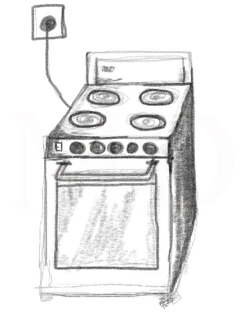 Dibujos para colorear de estufas imagui for Como dibujar una cocina