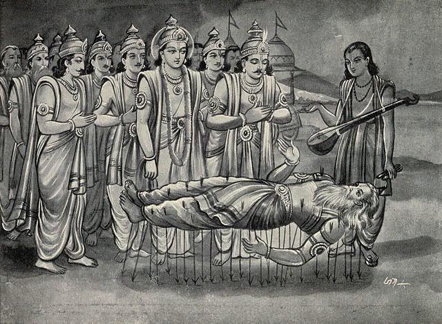 summary of mahabharat Free essay: adi-parva, first book: the origins of the families the story opens as sauti, a storyteller returning from the snake sacrifice of king janamejaya.