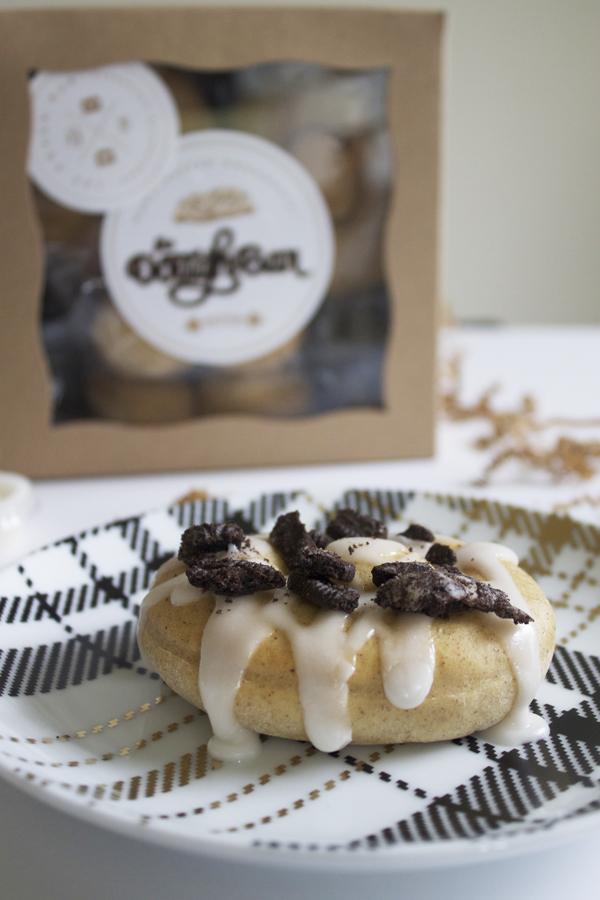 doughnuts, donuts, protein, protein doughnuts, The DoughBar Donuts, The DoughBar, sweets, sweet treat, oreo doughnut, cheesecake doughnut