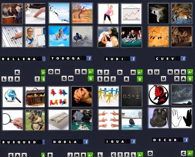 4 fotos 1 palabra | (Respuestas de 5 letras) HD - YouTube