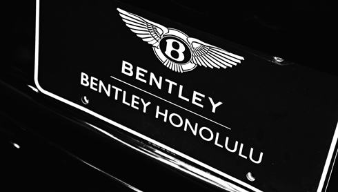 bentley first hawaiian auto show