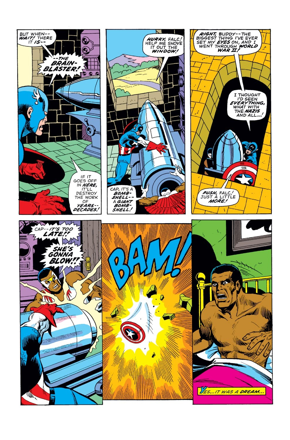 Captain America (1968) Issue #177 #91 - English 4