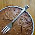 Hasselnødde-nougat brownie/kage