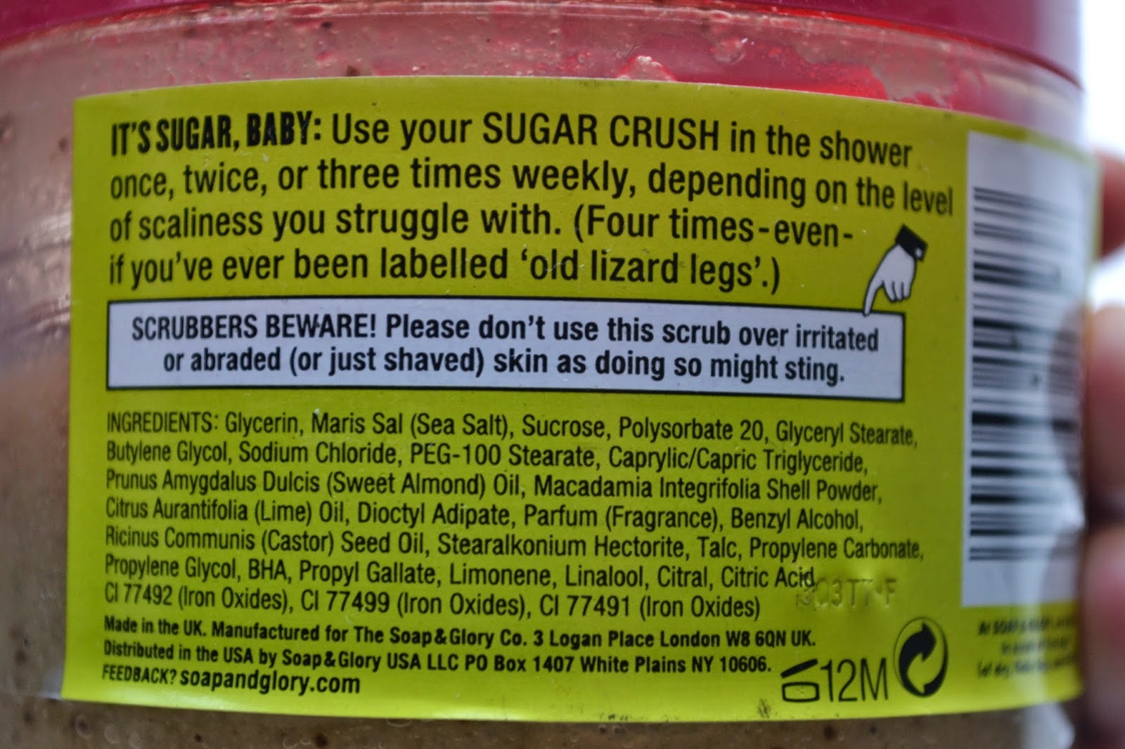 Sugar Crush Body Scrub by Soap & Glory