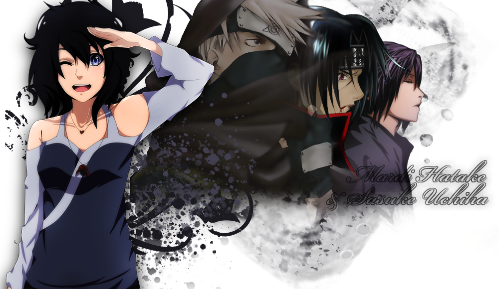 Mardi Hatake & Sasuke Uchiha