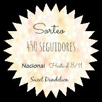 http://sweetdandelionbooks.blogspot.com.es/2015/10/sorteo-450-seguidores.html?showComment=1445373734712#c3830853062786222324