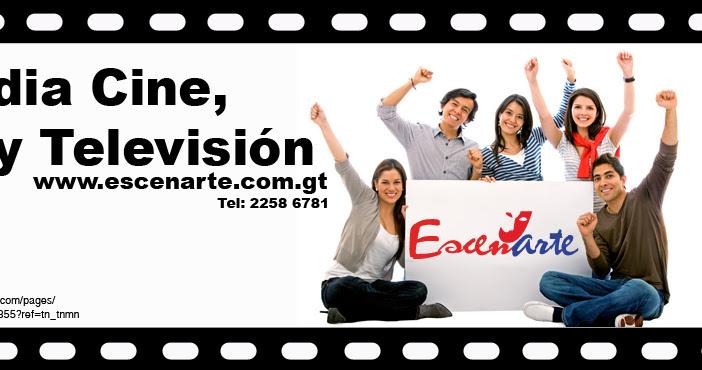Estudia Cine, teatro y tv en Escenarte