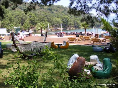 Garden Area, Aksazlar Beach, Fethiye