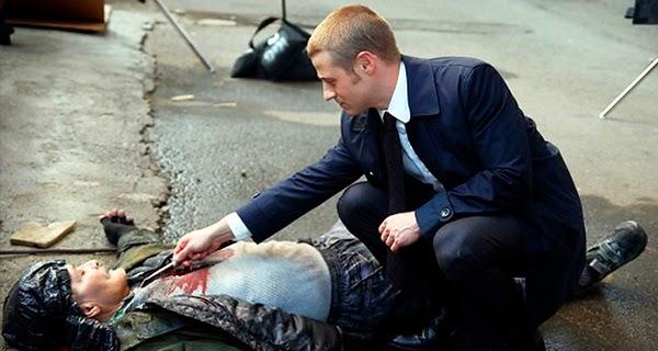 James Gordon en Gotham 1x02
