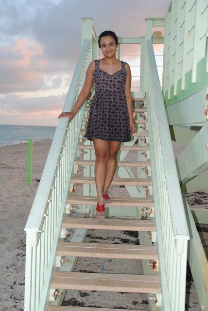 Beach dresses, indian girl in beach dress, ananya kiran, ananya in Miami, open back dresses, summer dresses, girl wearing a hat