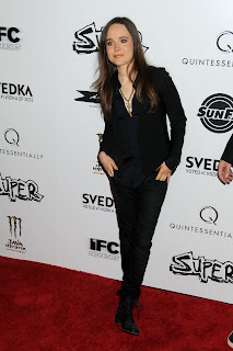 Ellen Page at the Super Premiere
