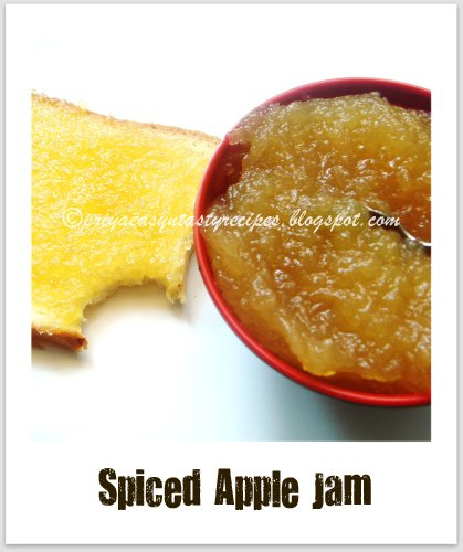 how to make apple jam easy