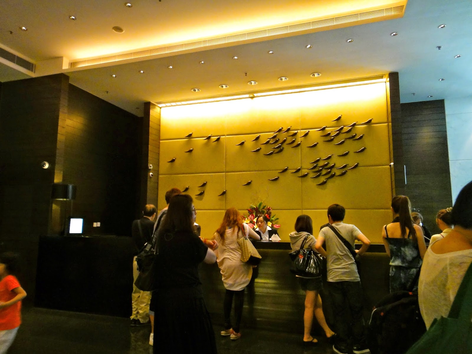 Panorama Hotel Tsim Sha Tsui Receptionist