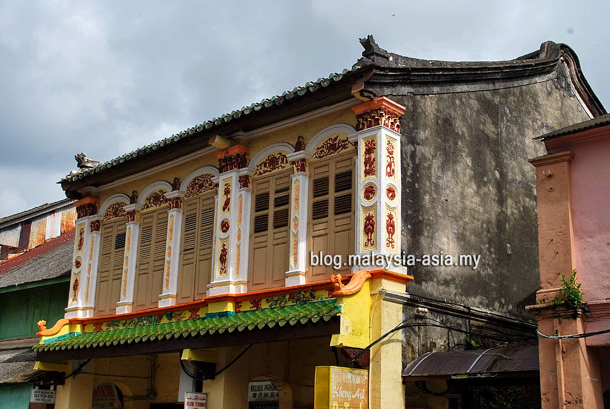 Old heritage buildings Terengganu