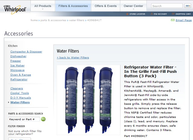 Whirlpool Water Filters