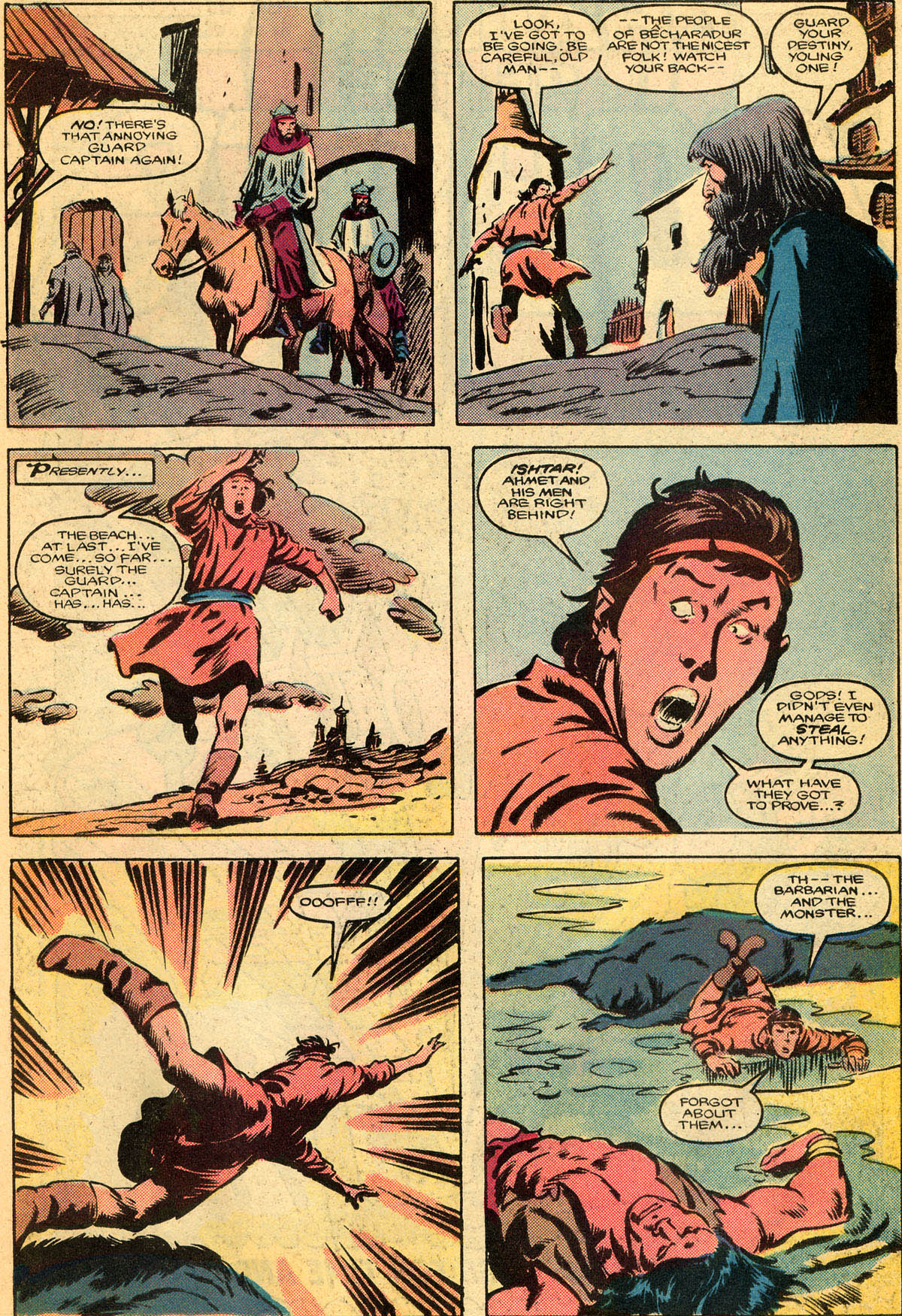 Conan the Barbarian (1970) Issue #179 #191 - English 8