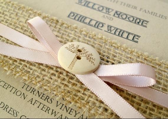 Tarjetas De Matrimonio Rustico : Ideas para invitaciones de boda con