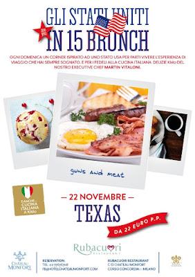 A Château Monfort il Sunday Brunch viaggia nello stato del Texas 2015