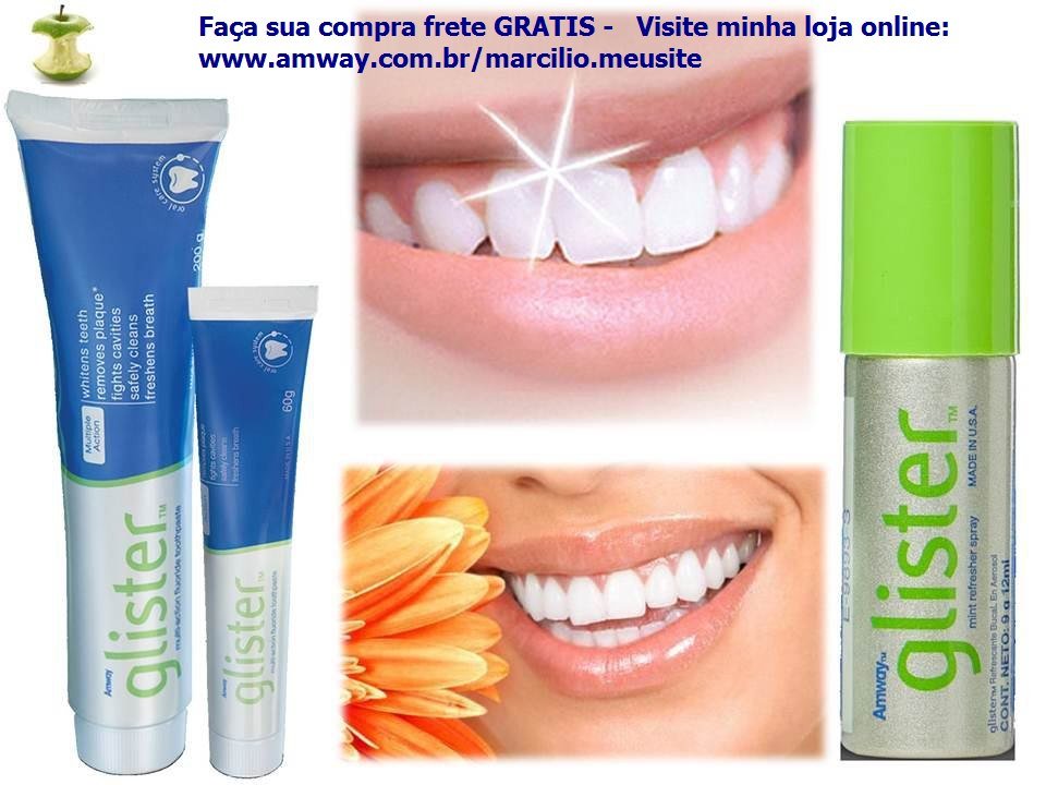 negocio pr prio amway glister creme dental multi action. Black Bedroom Furniture Sets. Home Design Ideas