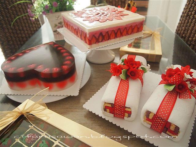Tempahan Agar-agar dan Puding, Puding Kasih Bertaut, Strawberry Snow ...
