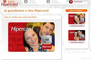 Cartão de crédito com foto