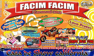 Vargem Grande: Facim Facim 2013