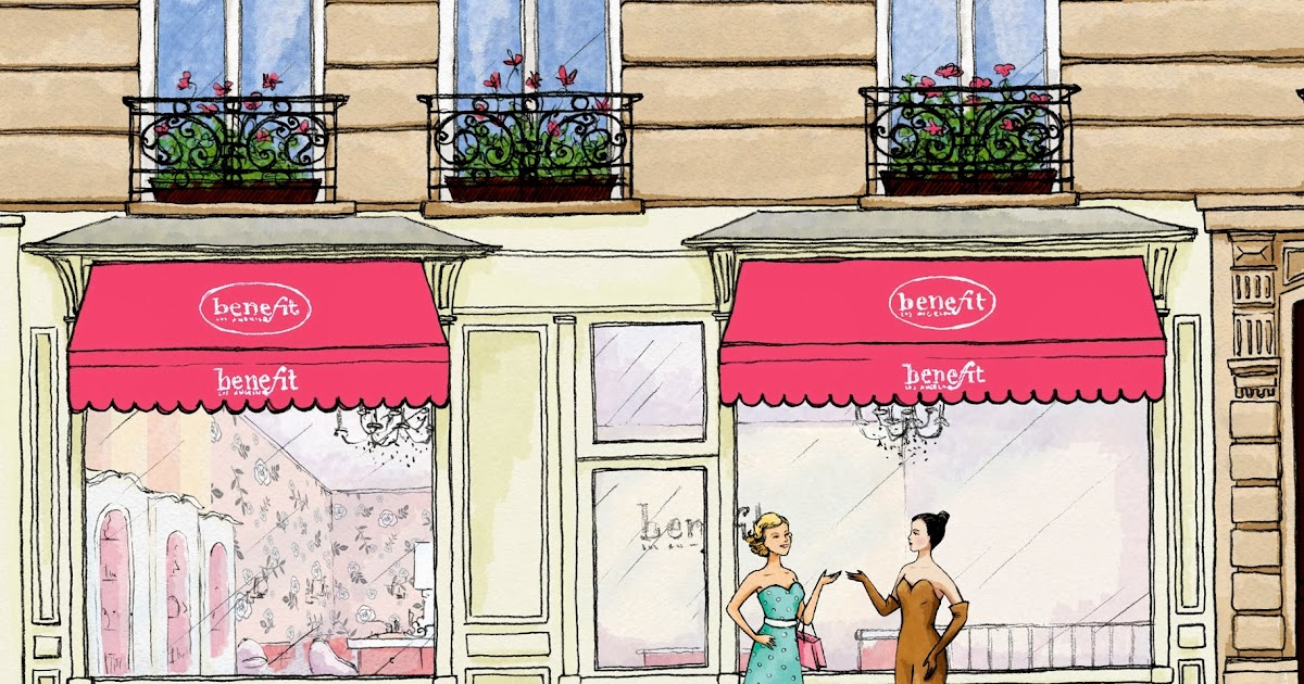 La gazette beaut flash info boutique benefit paris enfin l 39 adresse - H m home paris adresse ...