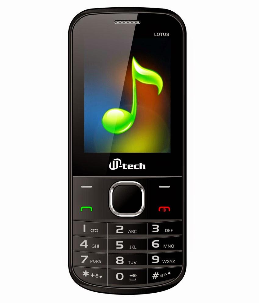 Buy Mtech Lotus Mobile Phone Rs.897 only at Askmebazaar.