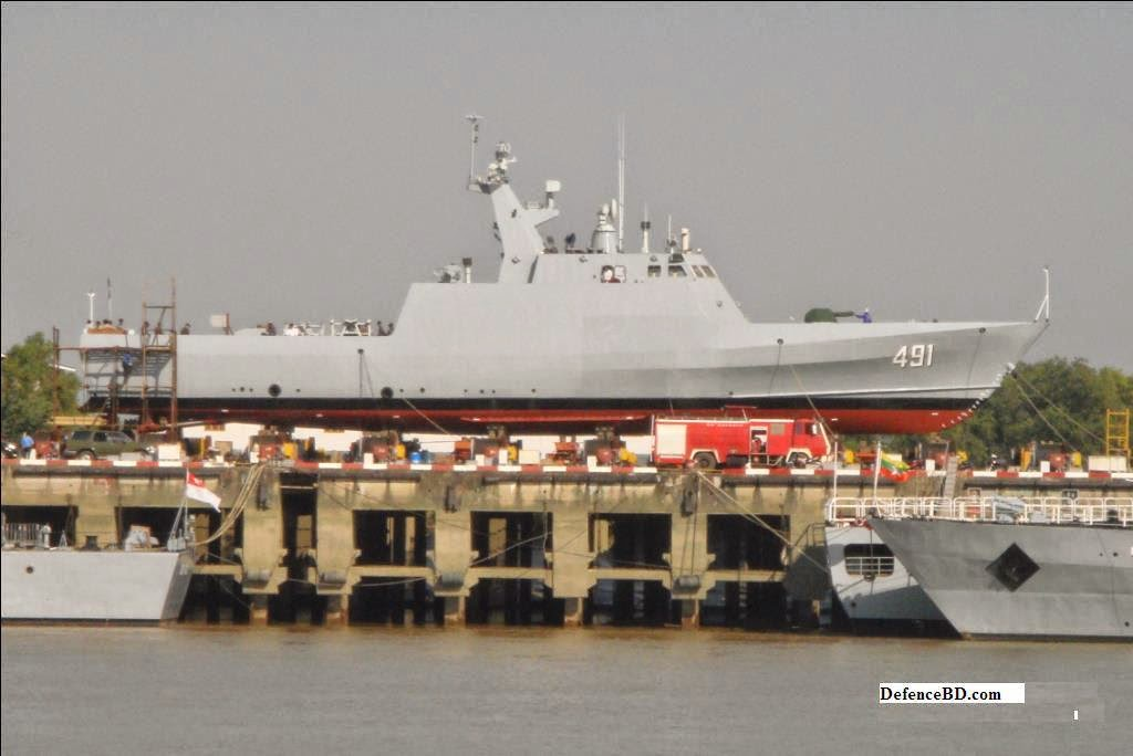 Myanmar Navy FAC 491 construction