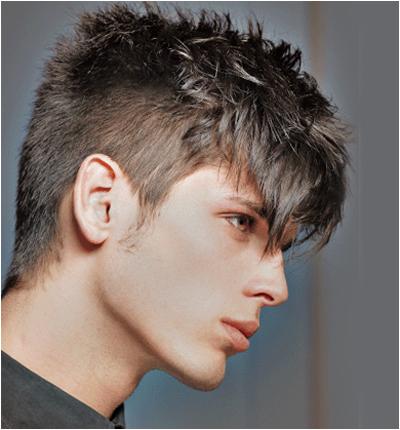 Мъжки прически за къса коса