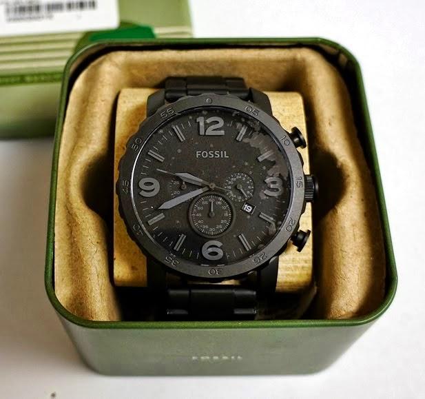 20fd3d990cdd1 Relógios Importados  Relógio Fossil JR1401 Nate, 50 mm, LANÇAMENTO!